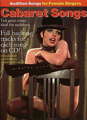 Audition Songs For Female Singers: Cabaret Songs Cover