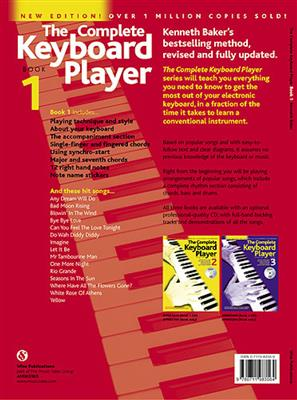 The Complete Keyboard Player Book 1 With CD Revised Edition