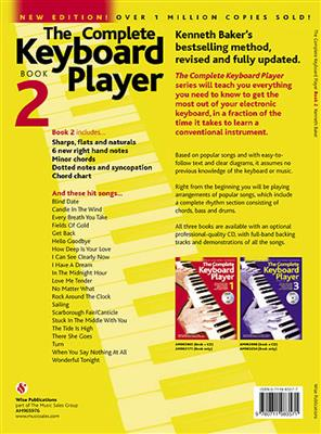 The Complete Keyboard Player: Book 2 With CD (Revised Edition) Cover