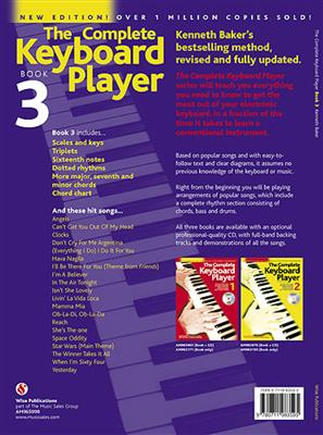 The Complete Keyboard Player: Book 3 With CD (Revised Edition) Cover