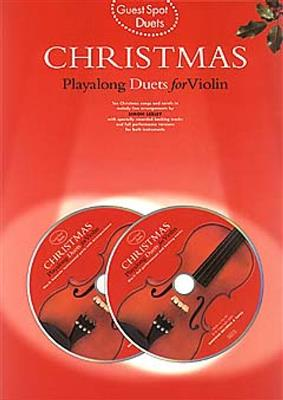 Guest Spot: Christmas Playalong Duets For Violin