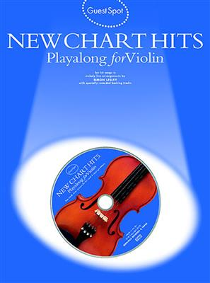 Guest Spot: New Chart Hits Playalong For Violin