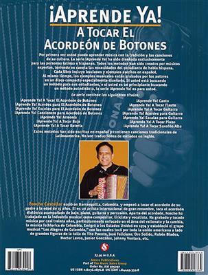 Aprende Ya! A Tocar El Acordeon De Botones. Accordion Sheet Music, CD
