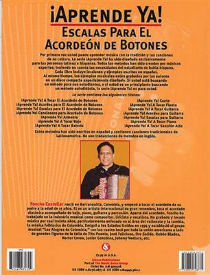 Aprende Ya! Escalas Para El Acordeon De Botones. Accordion Sheet Music, CD
