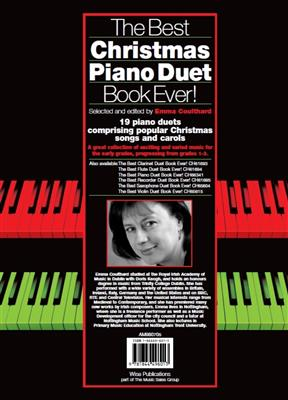 The Best Christmas Piano Duet Book Ever! Cover