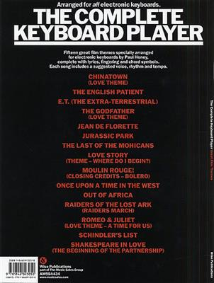 The Complete Keyboard Player Songbook Great Film Themes