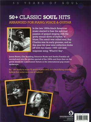 50 Years of Soul A Year By Year Collection