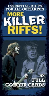 Cover for More Killer Riffs 52 Full Colour Cards