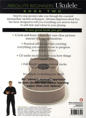 Absolute Beginners Ukulele Book 2 Book And CD