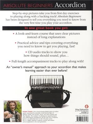 Absolute Beginners: Accordion (Book/CD)
