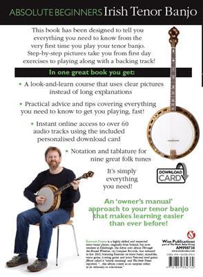 Absolute Beginners: Irish Tenor Banjo (Book/Audio Download)