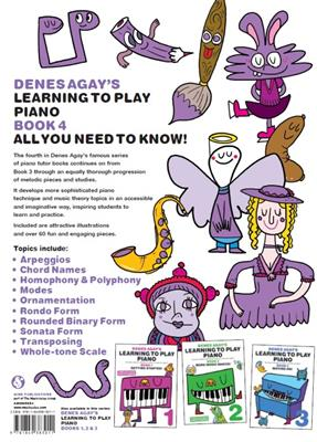 Denes Agay's Learning To Play Piano - Book 4 - All You Need To Know