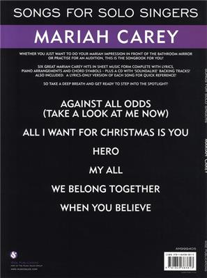 Songs For Solo Singers: Mariah Carey