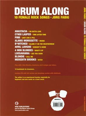 Drum Along - 10 Female Rock Songs