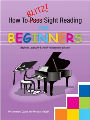 Cover for How To Blitz Sight Reading Beginner