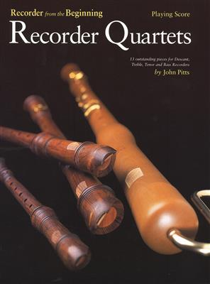 Recorder From The Beginning: Recorder Quartets (Playing Score) Cover
