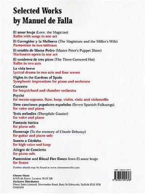 Manuel De Falla: El Retablo De Maese Pedro (Vocal Score). Treble Sheet Music