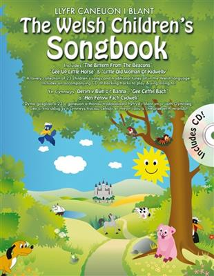 The Welsh Children's Songbook (Book And CD)