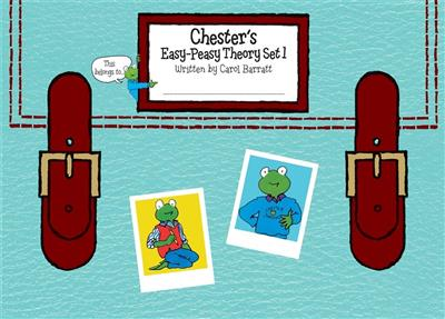 Chester's Easy-Peasy Theory Set 1 Cover