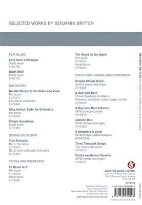 Benjamin Britten: Two Psalms (Vocal Score)