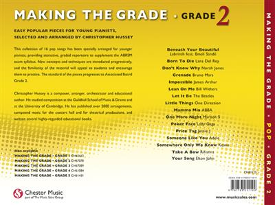 Making The Grade: Pop Piano (Grade 2)