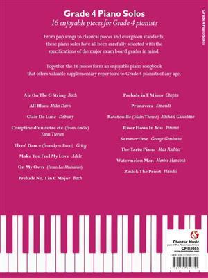 Grade 4 Piano Solos Cover