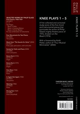 Philip Glass: Knee Plays 1-5 (Einstein On The Beach) - Study Score