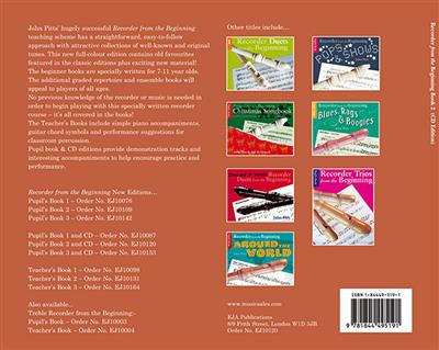 Recorder From The Beginning : Pupil's Book/CD 2 (2004 Edition) Cover