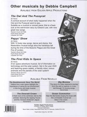 Debbie Campbell: Minibeast Madness! - Pupil's Script Cover