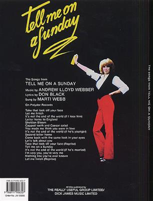 Andrew Lloyd Webber: Tell Me On A Sunday - Vocal Selections