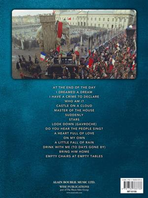 Boublil/Schönberg: Les Miserables (Selections From The Movie) Cover
