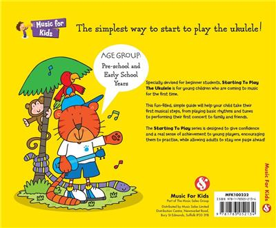 MUSIC FOR KIDS Starting To Play Ukulele BK CD
