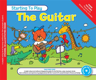 MUSIC FOR KIDS: Starting To Play Guitar Book And CD