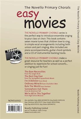 The Novello Primary Chorals Easy Movies