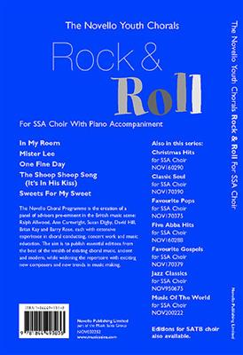 The Novello Youth Chorals: Rock And Roll (SSA)