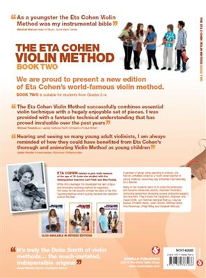 The Eta Cohen Violin Method: Book 2