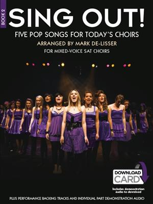 Sing Out! 5 Pop Songs For Today's Choirs - Book 2 (Book/Audio Download). SAT Sheet Music, Downloads