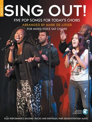 Sing Out! 5 Pop Songs For Today's Choirs - Book 5 (Book/Audio Download)