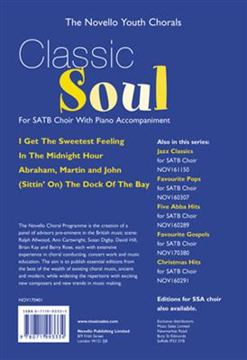 The Novello Youth Chorals: Classic Soul (SATB)