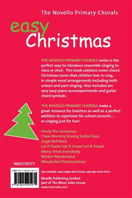 The Novello Primary Chorals: Easy Christmas Cover