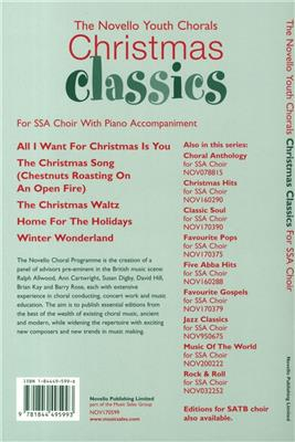 The Novello Youth Chorals: Christmas Classics (SSA) Cover