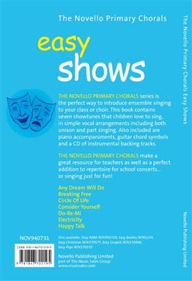The Novello Primary Chorals: Easy Shows