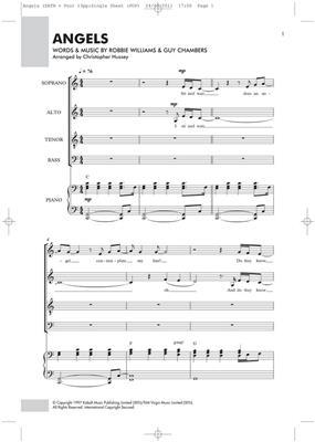 Robbie Williams: Angels - SATB/Piano