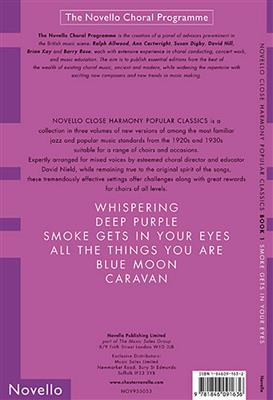 Novello Close Harmony Book 1 Smoke Gets In Your Eyes