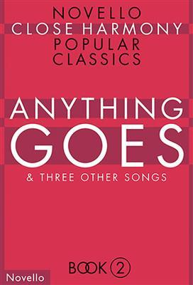 Novello Close Harmony Book 2: Anything Goes