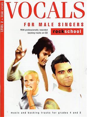 Rockschool Vocals For Male Singers - Level 2