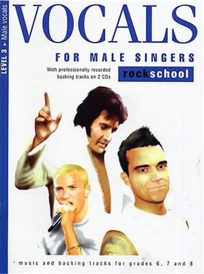 Rockschool Vocals For Male Singers - Level 3 Cover