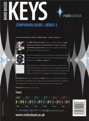 Rockschool Companion Guide - Band Based Keys