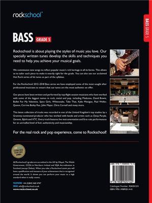 Rockschool Bass Grade 5 Book Download Card