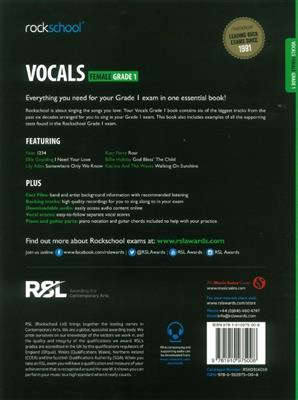 Rockschool Vocals Grade 1 Female Book Audio Download